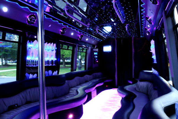 22 Seater Party Bus RaleighNC