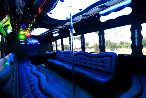 Party Bus For 40 People Raleigh