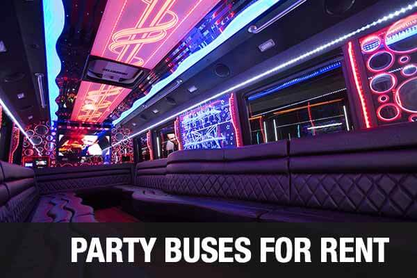 Charter Bus Party Bus Raleigh
