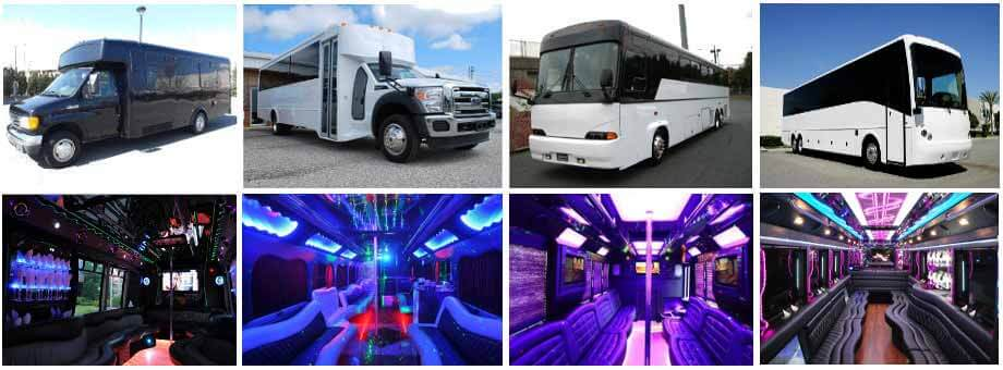 Charter Bus Party Buses Raleigh