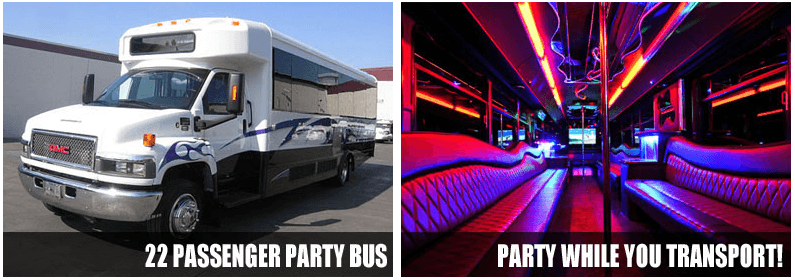 Wedding Transportation Party Bus Rentals Raleigh