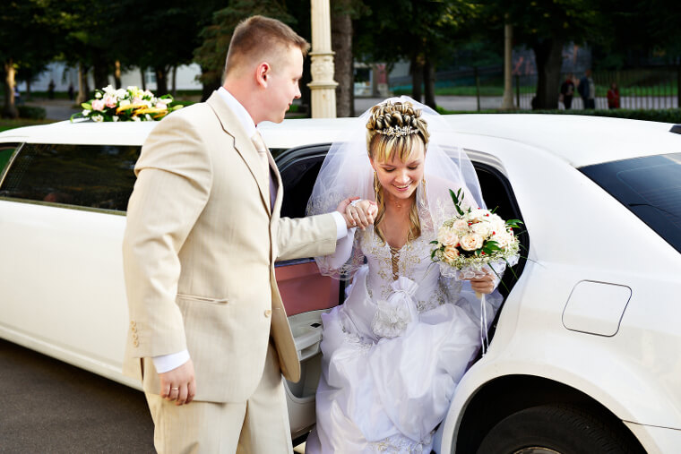 Wedding Transportation Limo Service Raleigh