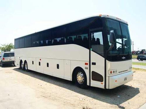 Raleigh 56 Passenger Charter Bus